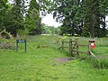 Entrance to Cyril Hart Arboretum, Forest of Dean - geograph.org.uk - 814423.jpg