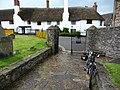 Entrance to Porlock churchyard - geograph.org.uk - 1710423.jpg