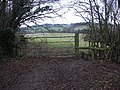 Entrance to isolated Chilterns field - geograph.org.uk - 106272.jpg