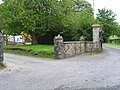 Entrance to the Lodge near Wern-olau - geograph.org.uk - 558232.jpg