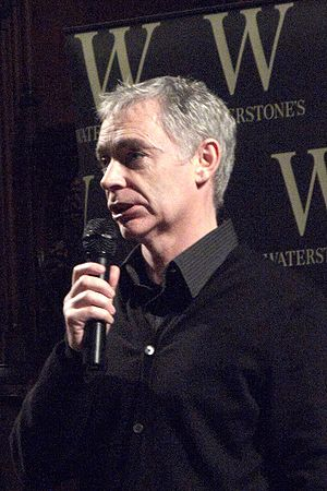 Eoin Colfer - Colfer at Great St Mary's, Cambridge in 2008