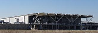 Erbil International Airport - Image: Erbil International Airport terminal building