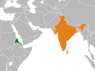 Diplomatic relations between the State of Eritrea and the Republic of India