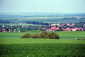 Falkenstein, Saxony-Anhalt - View to Ermsleben