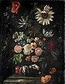 Ernst Stuven (Nachahmer) - Rosen, Tulpen, Mohn, eine Sonnenblume und andere Blumen.jpg