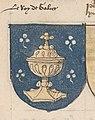 Escudo da Galiza no armorial de Coislin-Séguier (c. 1480-1500).jpg