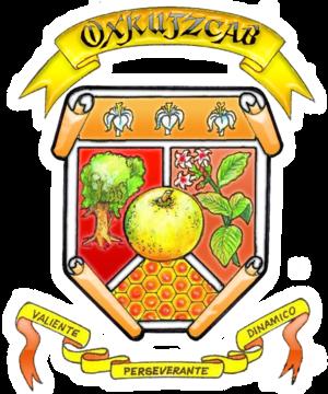 Oxkutzcab Municipality - Image: Escudo oxkutzcab