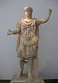 Estàtua de l'emperador romà Adrià, Museu Arqueològic d'Olímpia.JPG