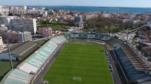 Vitória F.C. - Aerial view of the stadium
