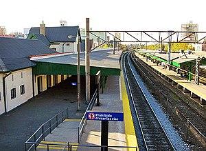 Lanús - Lanús railway station.