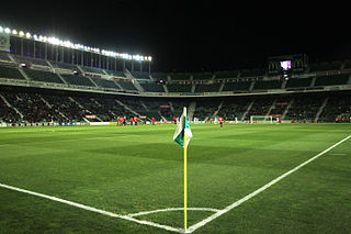 Estadio Manuel Martínez Valero stadium at Elche, Spain