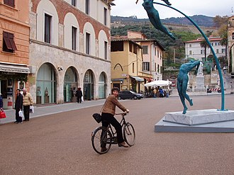 Pietrasanta - Main square of Pietrasanta.