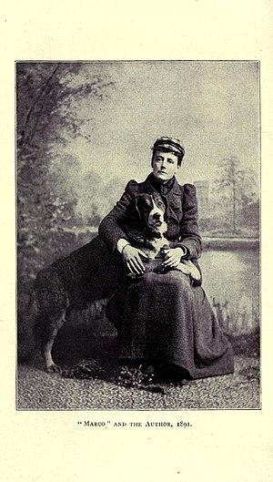 Ethel Smyth - Ethel Smyth and her dog, Marco, 1891