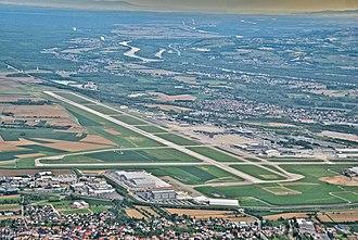 EuroAirport Basel Mulhouse Freiburg - Aerial view