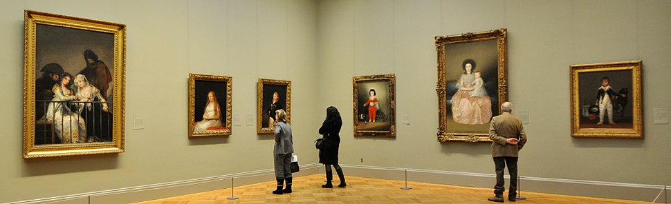 European paintings at Metropolitan Museum of Art (NYC, USA)