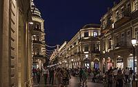 Evening Baku, Azerbaijan