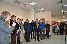 Exhibition 10 years Artel of Belarusian Artists 21.01.2015 01.JPG