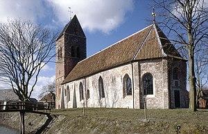 Godlinze - Protestant Church in Godlinze in 1988