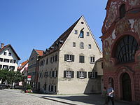 Füssen - Spitalgasse Nr 6 v W 160713.JPG