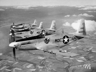 Maryland Air National Guard - Maryland ANG F-51H Mustangs, 1952