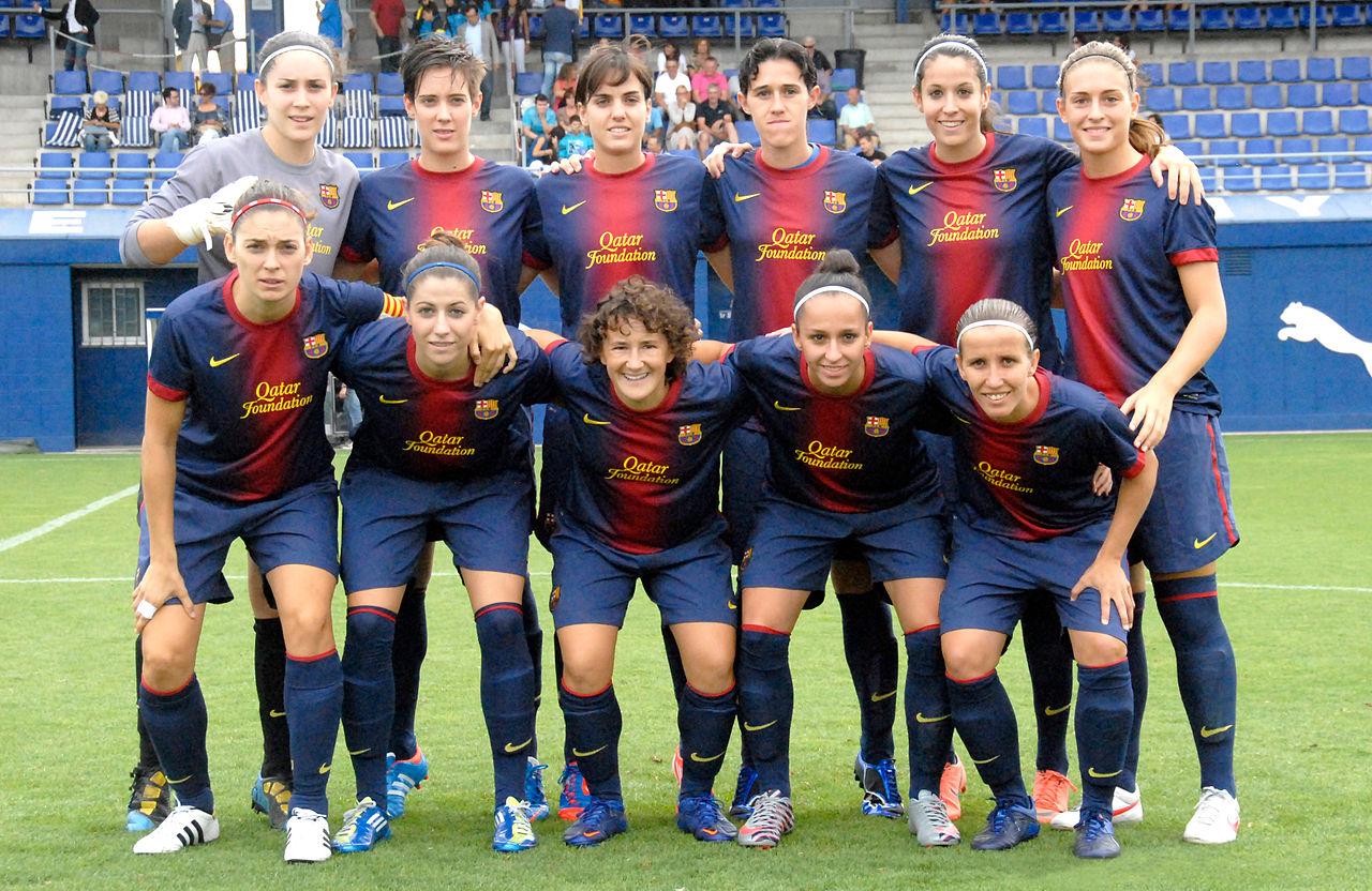 Barcelona – Lyon Wikipedia: File:FC Barcelona Femení.jpg