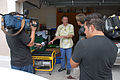 FEMA - 35484 - FEMA Administrator Paulison doing hurricane preparedness at his Florida home.jpg