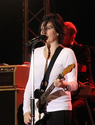 Sharleen Spiteri - Spiteri performing live with Texas in 2011