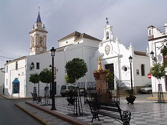 Albaida del Aljarafe - Plaza de España, Albaida del Aljarafe