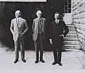 FROM LEFT- LORD EDMUND ALLENBY, LORD ARTHUR JAMES BALFOUR & SIR HERBERT SAMUEL.jpg