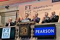 FT ringing the Closing Bell at the NYSE (8740578715).jpg