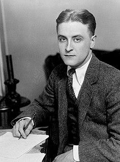 F. Scott Fitzgerald American novelist and screenwriter (1896-1940)