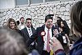 Fabián Picardo en su recorrido tras conocerse que será el nuevo Ministro Principal de Gibraltar (23348456195).jpg