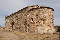 Cabecera de la Iglesia de Santiago de los Caballeros en Zamora.