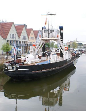 Stralsund–Sassnitz railway - The Stralsund Ferry operated the railway ferry service over the Strela Sound from 1890 to 1936.