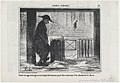 Faisant son apprentissage au tourniquet de la bourse..., from Croquis Parisiens, published in Le Charivari, February 6, 1857 MET DP876634.jpg
