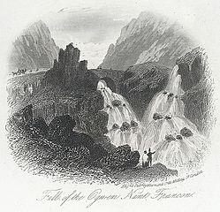 Fall of the Ogwen, Nant Francon