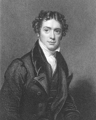 Michael Faraday - Portrait of Faraday in his late thirties, ca. 1826