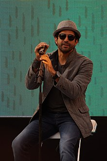 Farhan Akhtar at Times Litfest 2016, New Delhi 01.jpg
