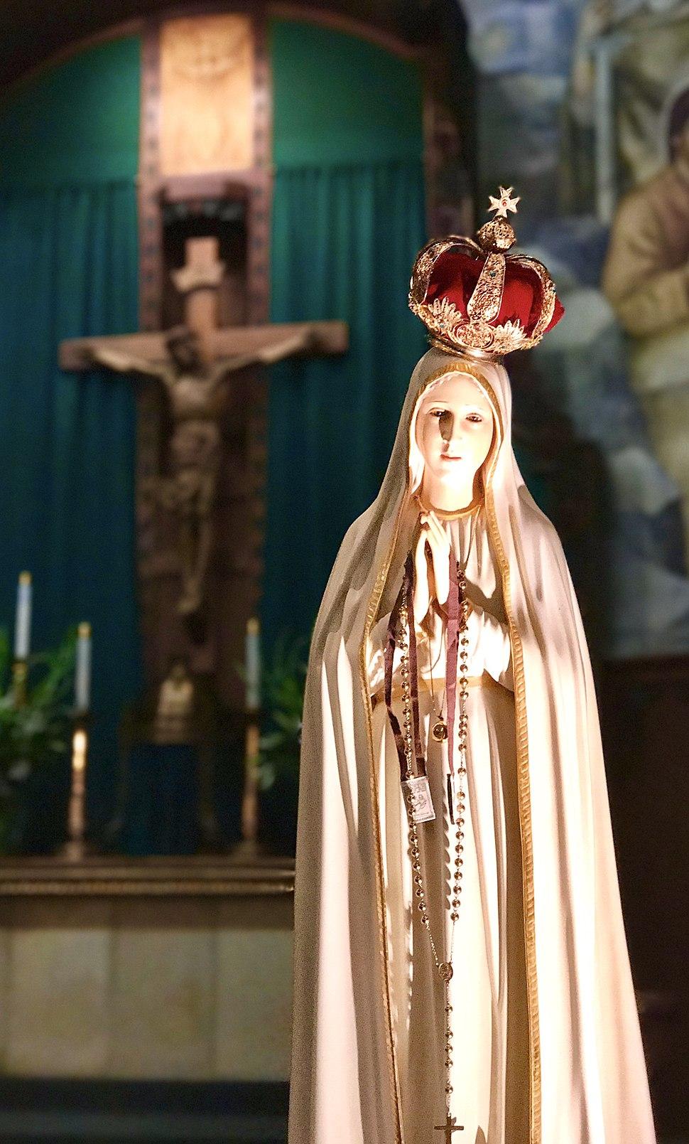 Fatima Mary at Reno Cathedral