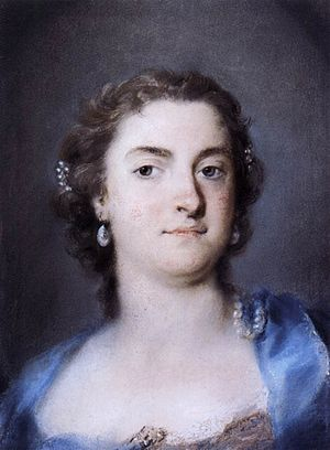 Faustina Bordoni - Faustina Bordoni by Rosalba Carriera
