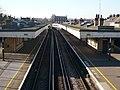 Faversham rail station taken on the bridge from St. Catherine's church - geograph.org.uk - 693242.jpg