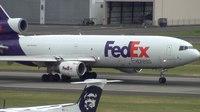 File:FedEx MD-10-30 (DC-10) (N304FE) Takeoff Portland Airport (PDX).ogv