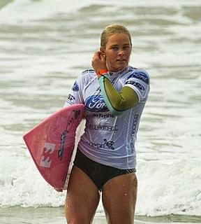 Felicity Palmateer Australian surfer