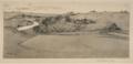 Felix Hollenberg Vorfrühlingsabend über der schwäbischen Alb 1910.png