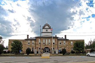 Fentress County, Tennessee - Image: Fentress County Courthouse east tn 1