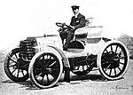 Fernand Charron, vainqueur de Paris-Amsterdam-Paris en 1898 sur Panhard et Levassor.jpg