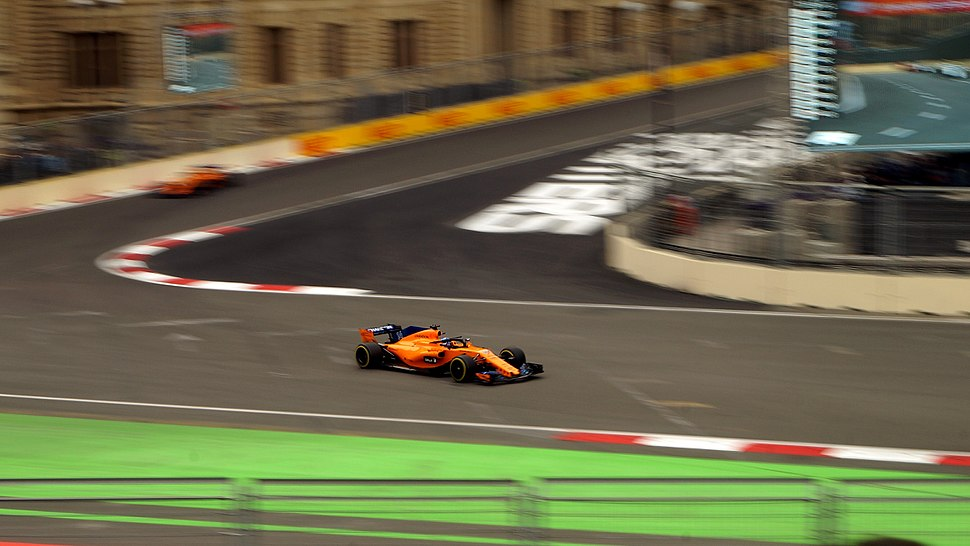 Fernando Alonso 2018 AzerbaijanGP