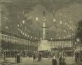 Festas do Centenário de Camões (1880) - Iluminação da Praça de D. Pedro IV.png