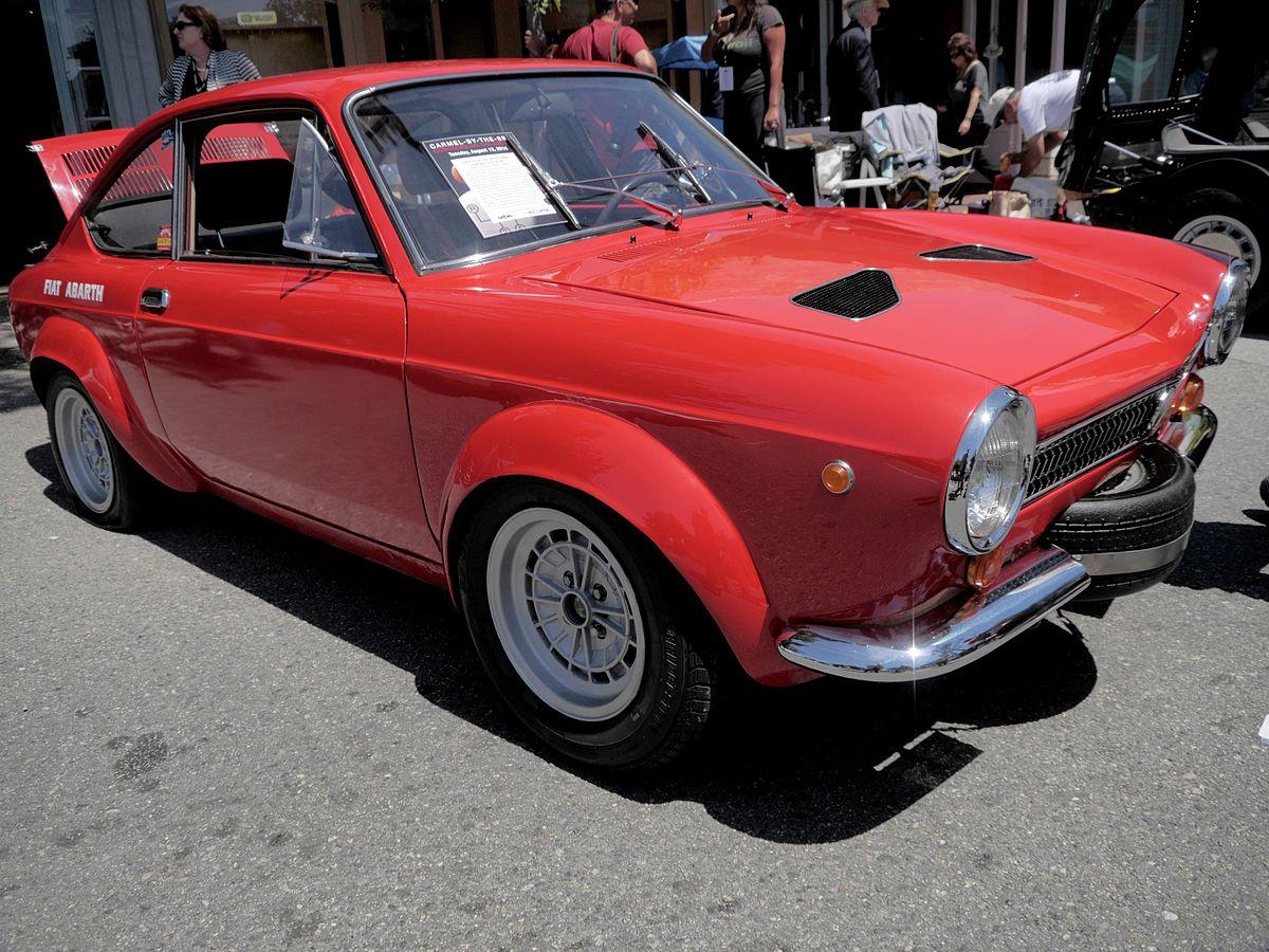 Fiat 850 Coup 233 Abarth 2000 Ot Wikipedia