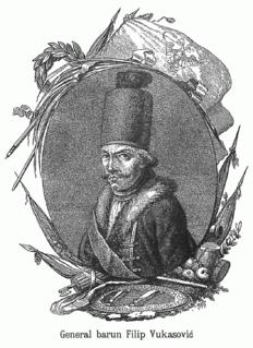 Josef Philipp Vukassovich Austrian general